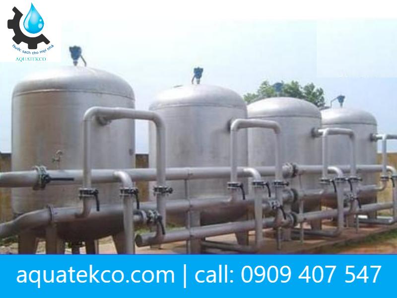 xử lý nước cấp khu dân cư