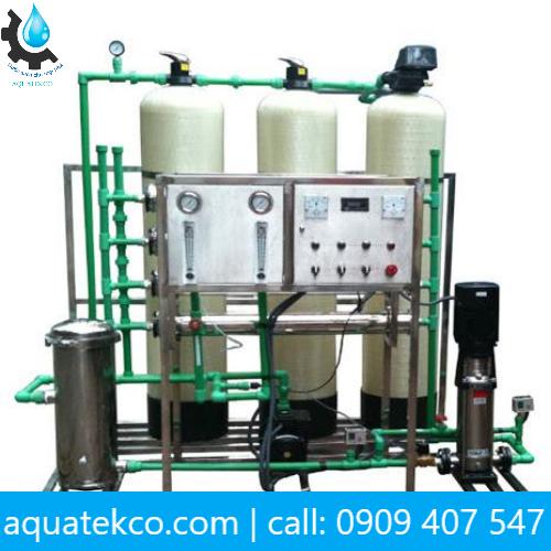 hệ thống lọc nước nhiễm mặn