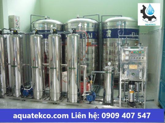 hệ thống lọc nước tinh khiết cho bệnh viện