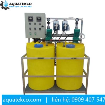 Hệ thống châm hóa chất chống cáu cặn